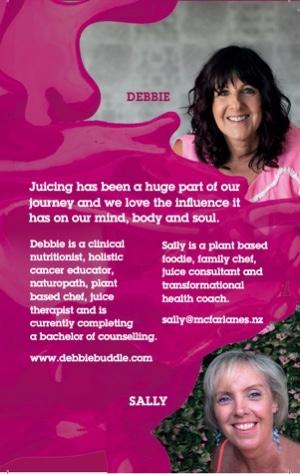 Juice Card - Debbie Buddle